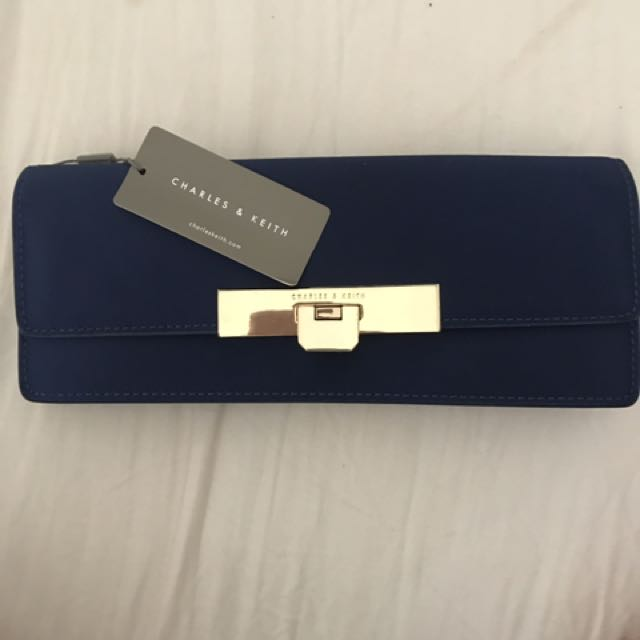 Blue clutch / bag