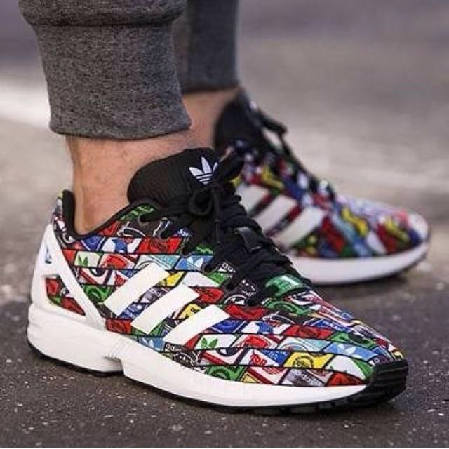 BNIB ADIDAS ZX FLUX With box