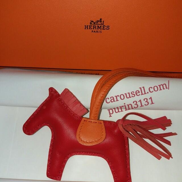 aeb9a9725ecd Pending  BNIB Hermes Rodeo Bag Charm - PM
