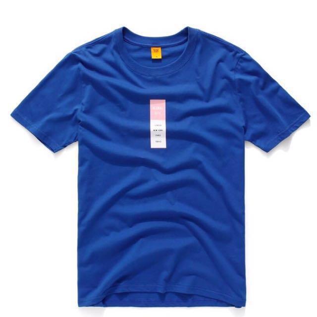 CACO 設計T 台灣製 MIT 短踢 棉T 短T 素色 素面 素T 寶藍 英文字母 世界 城市