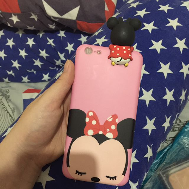 Case Minnie Mouse 3D iphone 6 PLUS