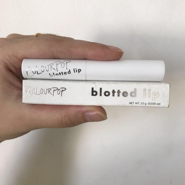 Colourpop Blotted Lip ORI