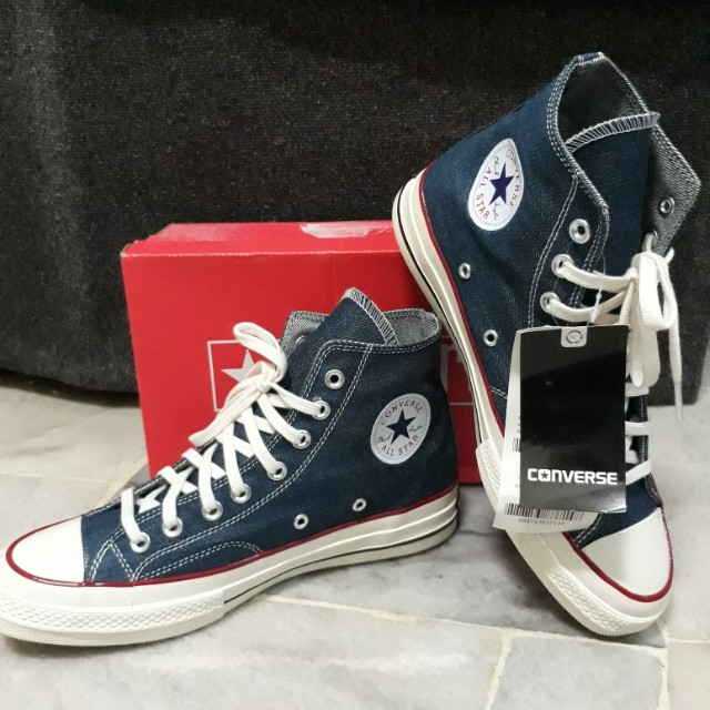 640be37a0a02ed Converse Chuck Taylor  Hi-Cut  - Blue Denim Jeans