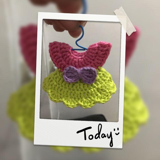 Crochet souvenirs ref magnet