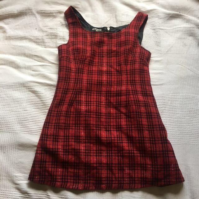 Dangerfield tartan dress
