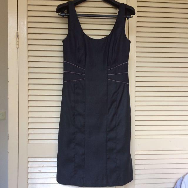 🎉Dark Grey Sleeveless Dress
