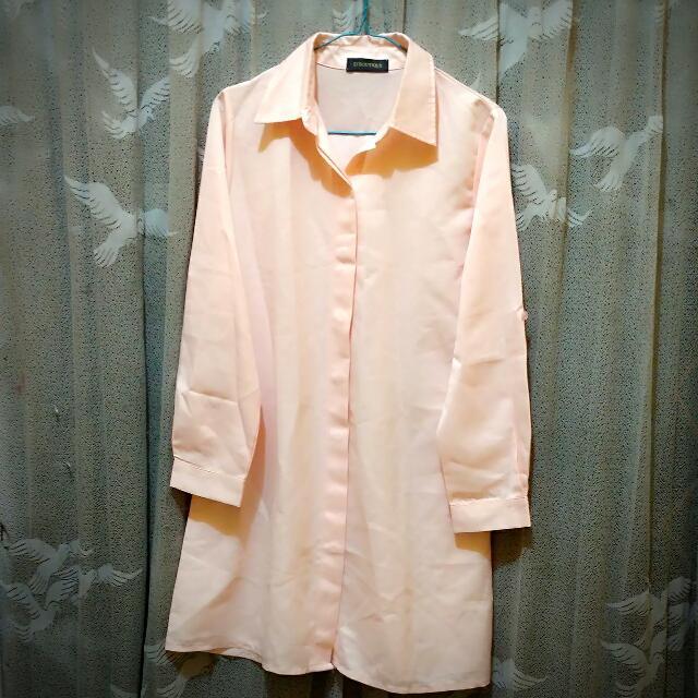 Dress Elegan Pink Boutiuq #prelovedkusayang