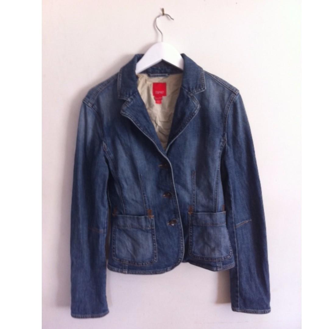 ESPRIT Denim Jacket Size 12
