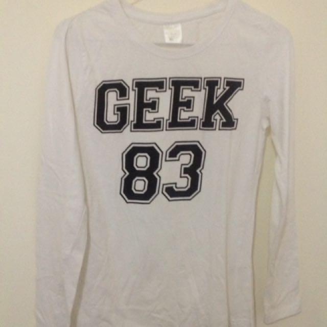 Geek White Top | SZ:8