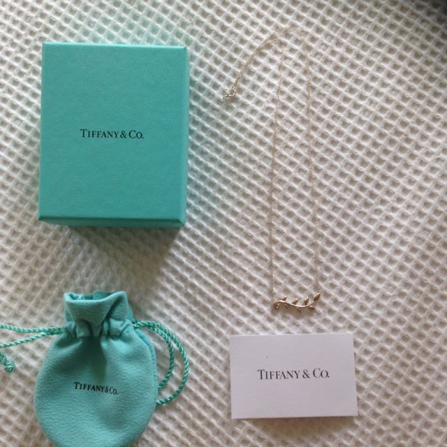 Genuine Tiffany and Co necklace