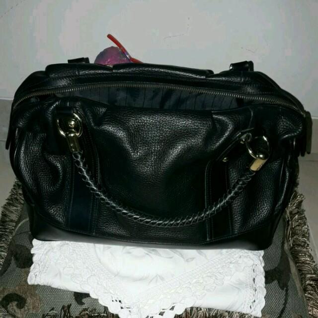 Gobelini Speedy black bag