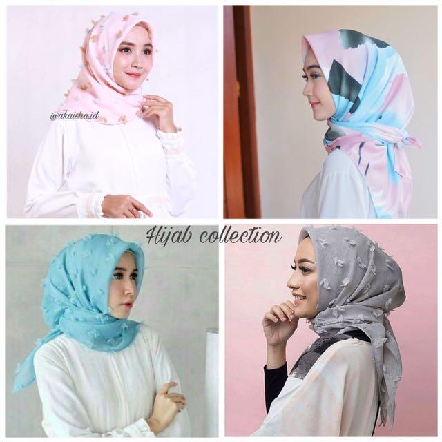 Hijab linen rubiah & maxmara