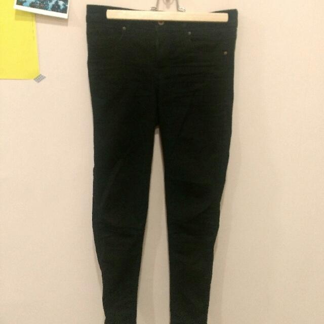 H&M 九成新黑色長褲