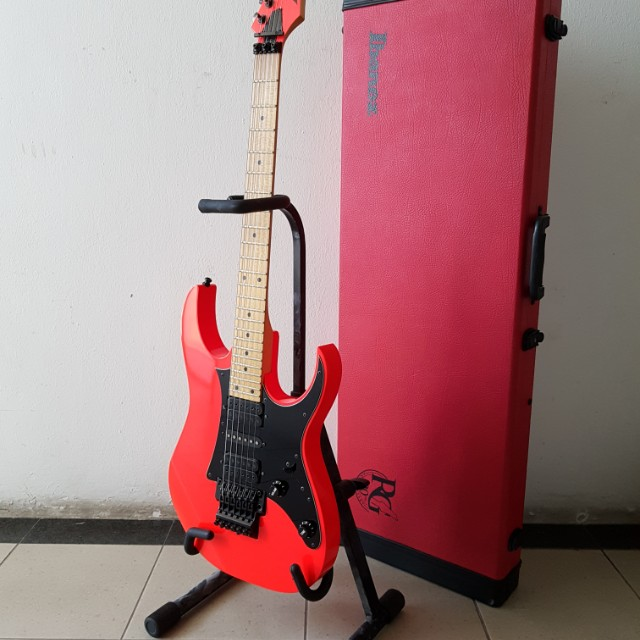 Ibanez RG 550 20th anniversary MIJ road flare red