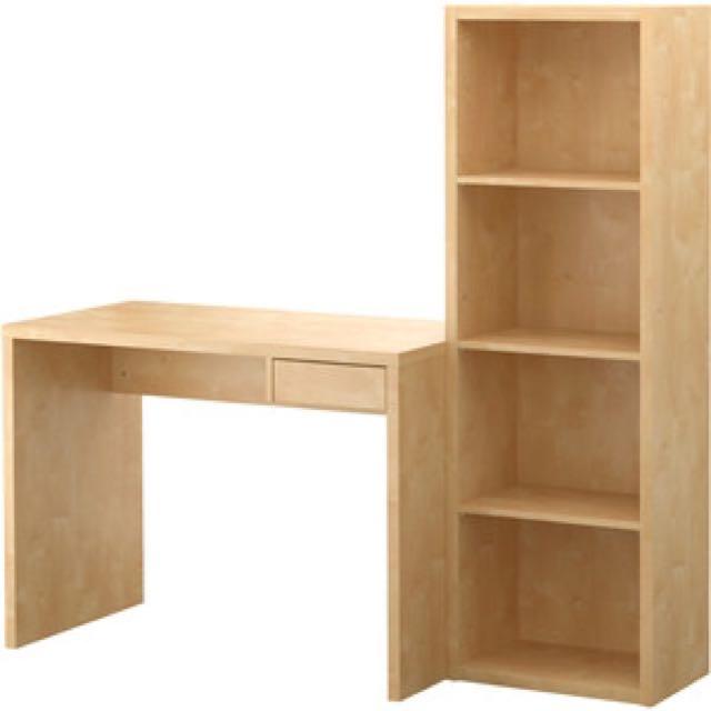 IKEA desk/bookshelve