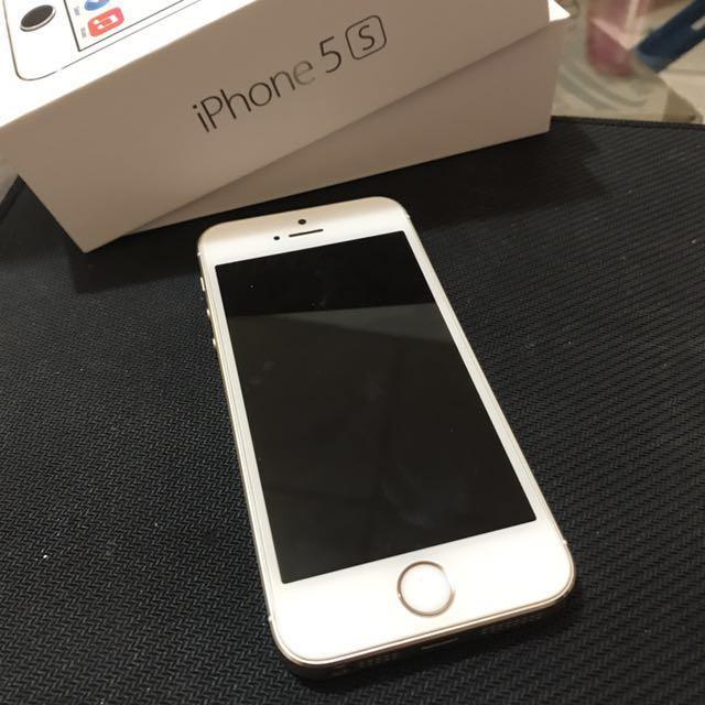 (已降價)iPhone 5s 32g 土豪金 無傷 不議價