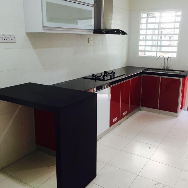 Kabinet Dapur Aluminium Home Furniture On Carou