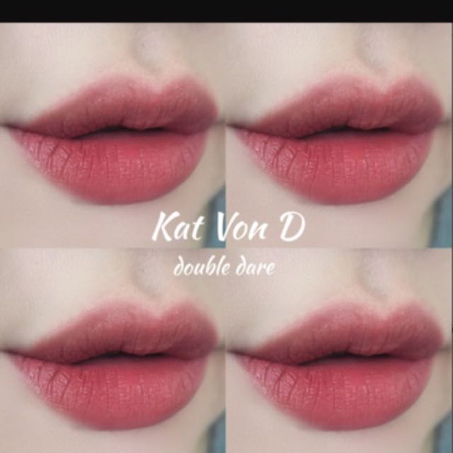 全新Kat Von D Double Dare (pony愛用)買就送贈品