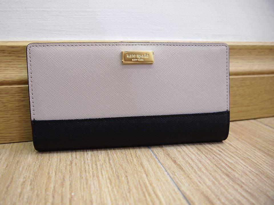 5520fb4f65e0 Kate Spade New York women laurel way Stacy leather wallet purse ...