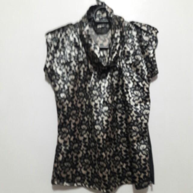 Kimono Silk Blouse