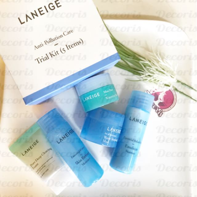 Laneige Anti Pollution Care Kit