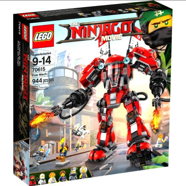 Lego BNIB 70615 Fire Mech (reserved)