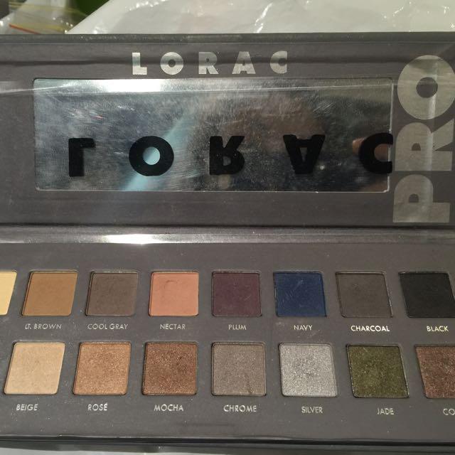 Lorac Pro 2 Eyeshadow Palette