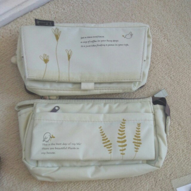 Free* Make up bags or pencil cases