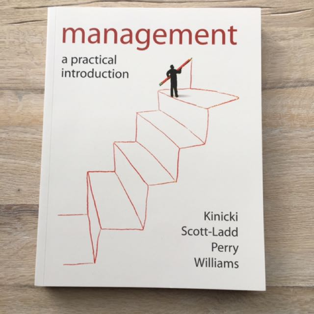 MANAGEMENT A PRACTICAL INTRODUCTION TEXTBOOK