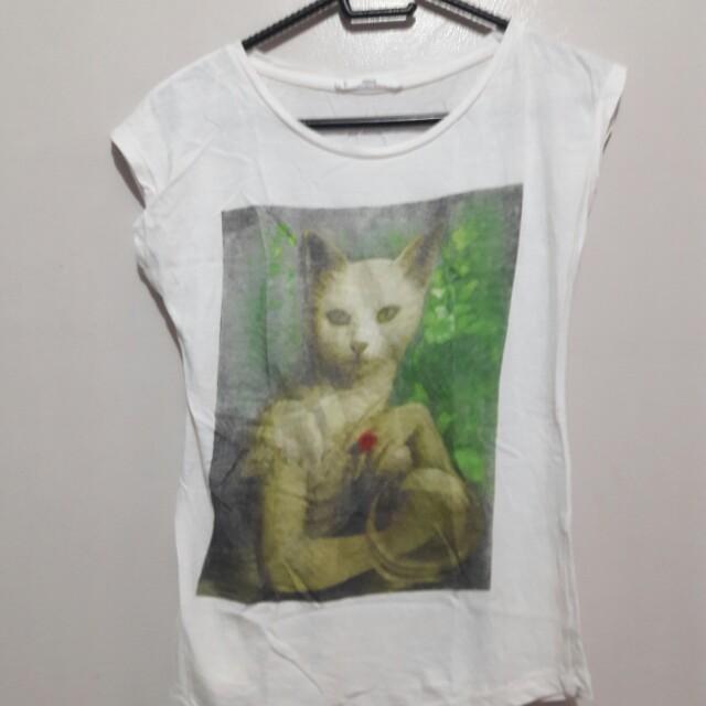 Mango Kitty Shirt