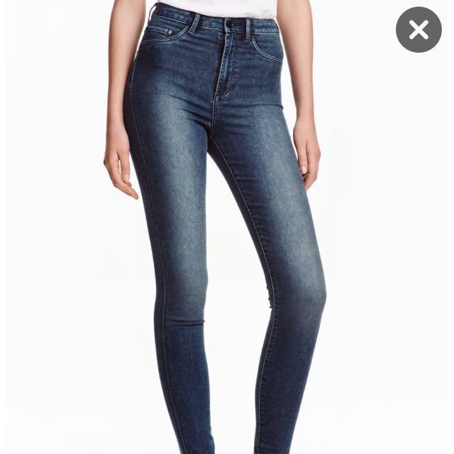 🚨MARK DOWN 🚨 H&M Super Skinny High waisted pants