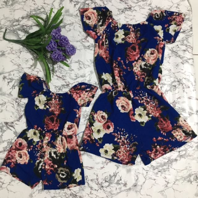 matchy mom&daughter romper