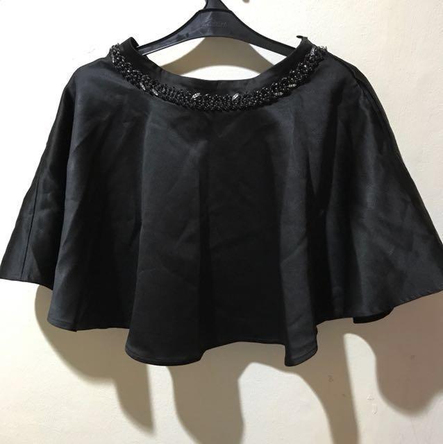 Miu miu elegant flare mini skirt