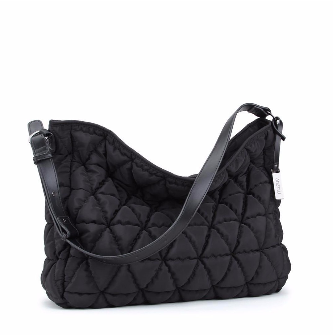 ON SALE!!! Mizzue Hobo Bag with zipper - black (Never used, still with tag)