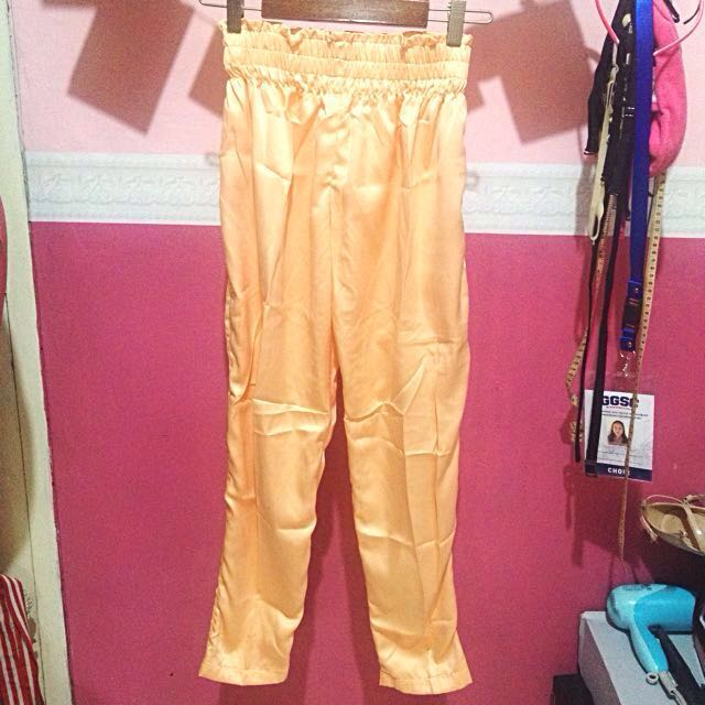 NEW (freeong) Satin Hareem Pants