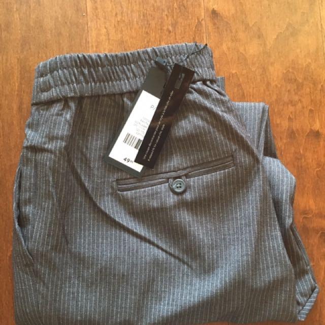 NEW W/ TAGS Ladies pinstripe jogger work pants - DYNAMITE