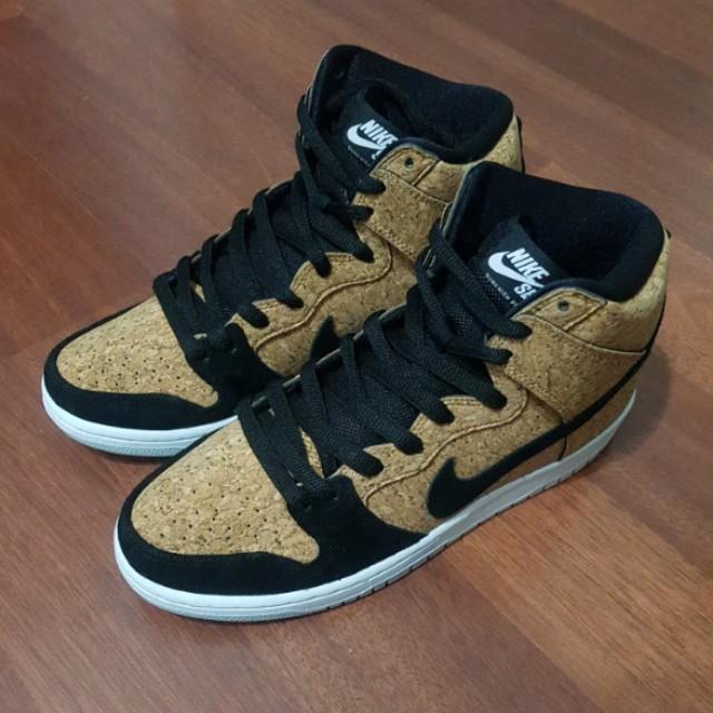 premium selection c575d b81a2 Nike Dunk High Premium SB Cork (UK 8)