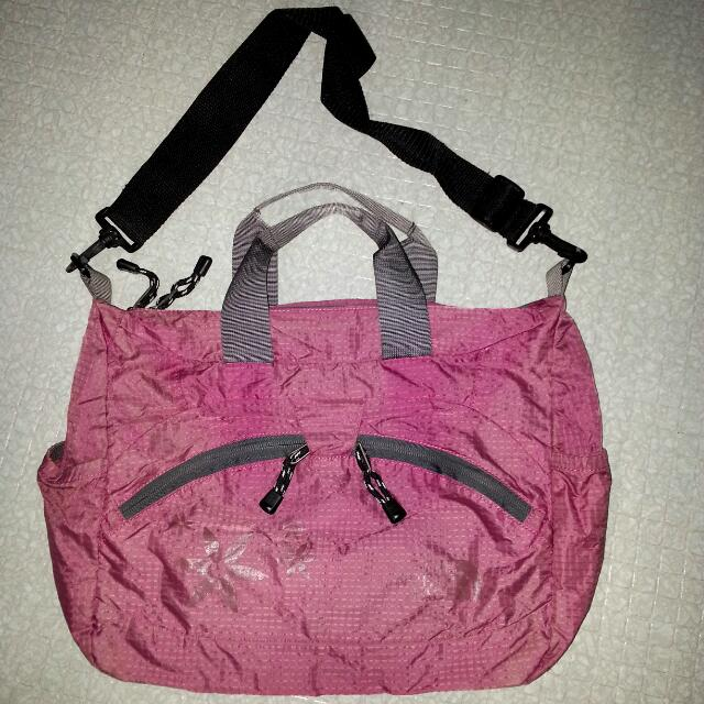 North Face Pink Bag
