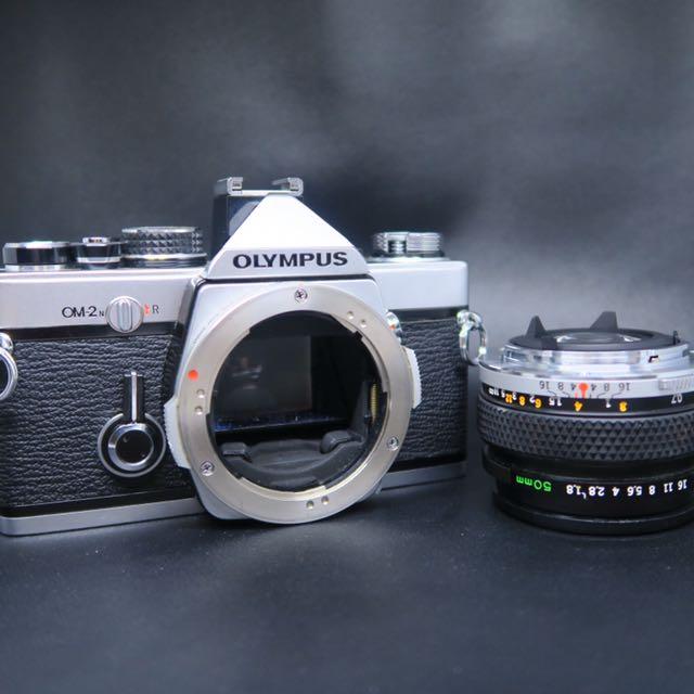Olympus OM2n + Zuiko 50mm 1:1.8