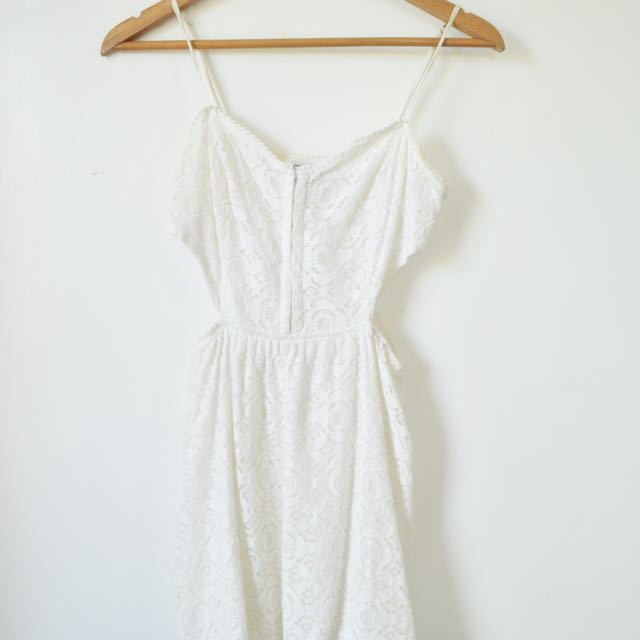 Pacsun Kendall And Kylie White Dress