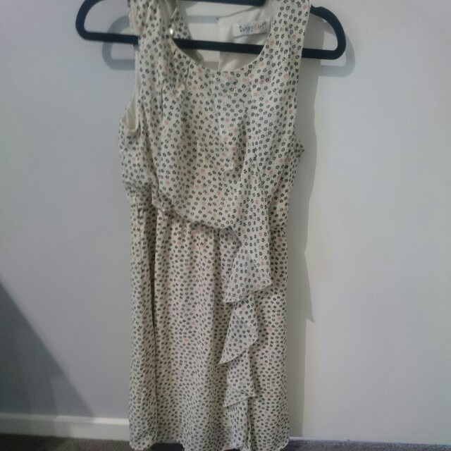 Paisley printed size 10 dress