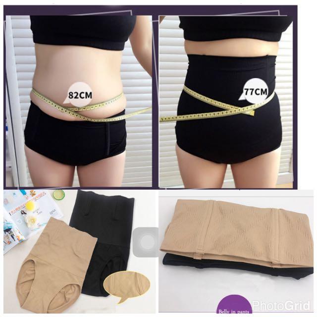 7b77ca0a1 Black Skin Lady s High Waist Body Shaper Brief Underwear Tummy ...
