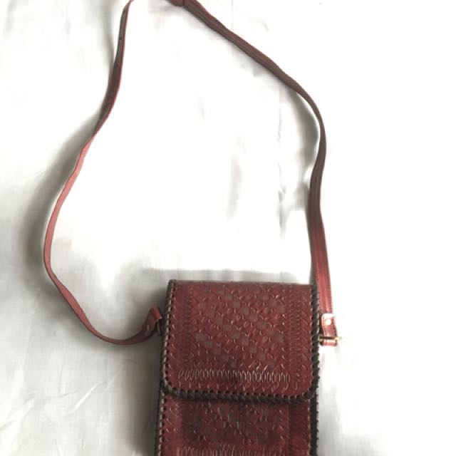 Indian Leather Satchel