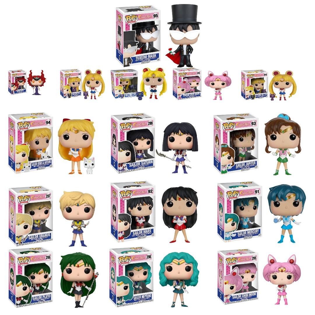 Cash Car Rentals >> Sailor Moon Funko Pop, Toys & Games, Bricks & Figurines on Carousell