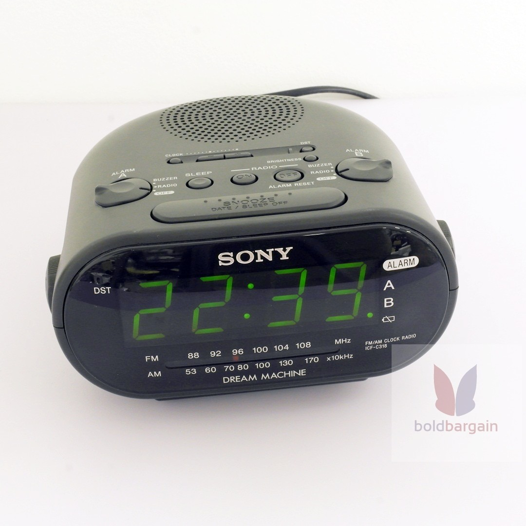 Sony Icf C318 Clock Am Fm Radio With Dual Alarm Electronics Audio Beeper Circuit On Carousell