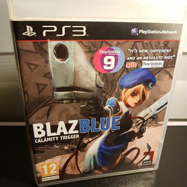 Sony PS3 BlazBlue Calamity Trigger