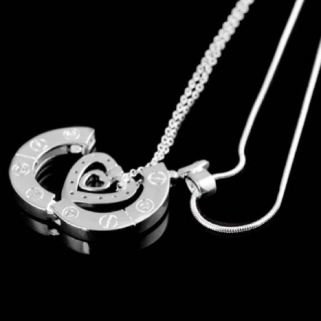 Stairway to Heaven Couple Necklace