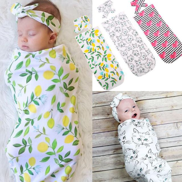 b19d1eae654 ✓️STOCK - INSTANT SWADDLE BABY MUSLIN COTTON BLANKET   MATCHING ...