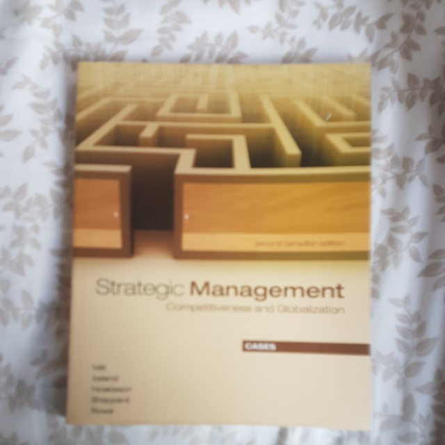 Strategic Management - competitiveness and Globalization cases - second edition