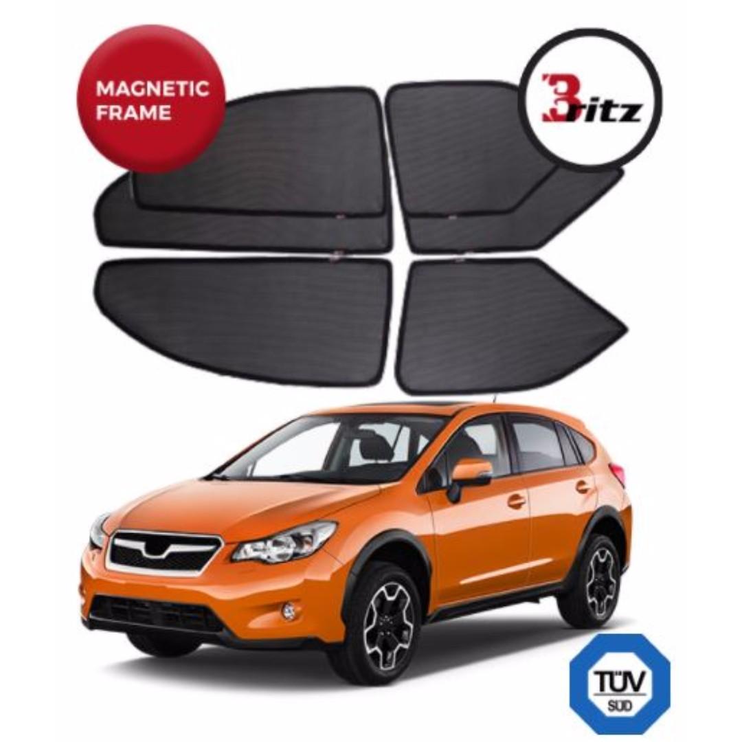 Subaru Xv Premium Britz Shades Customised Magnetic Sunshade Car